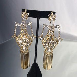 Bebe statement earrings